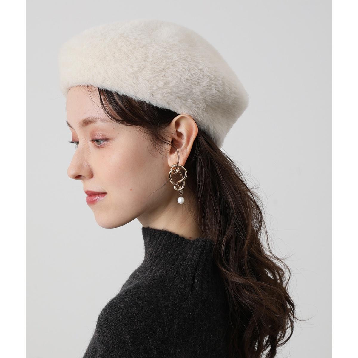 SALE ハンチング ベレー帽 シャギーベレー ビス 激安超特価 送料無料激安祭