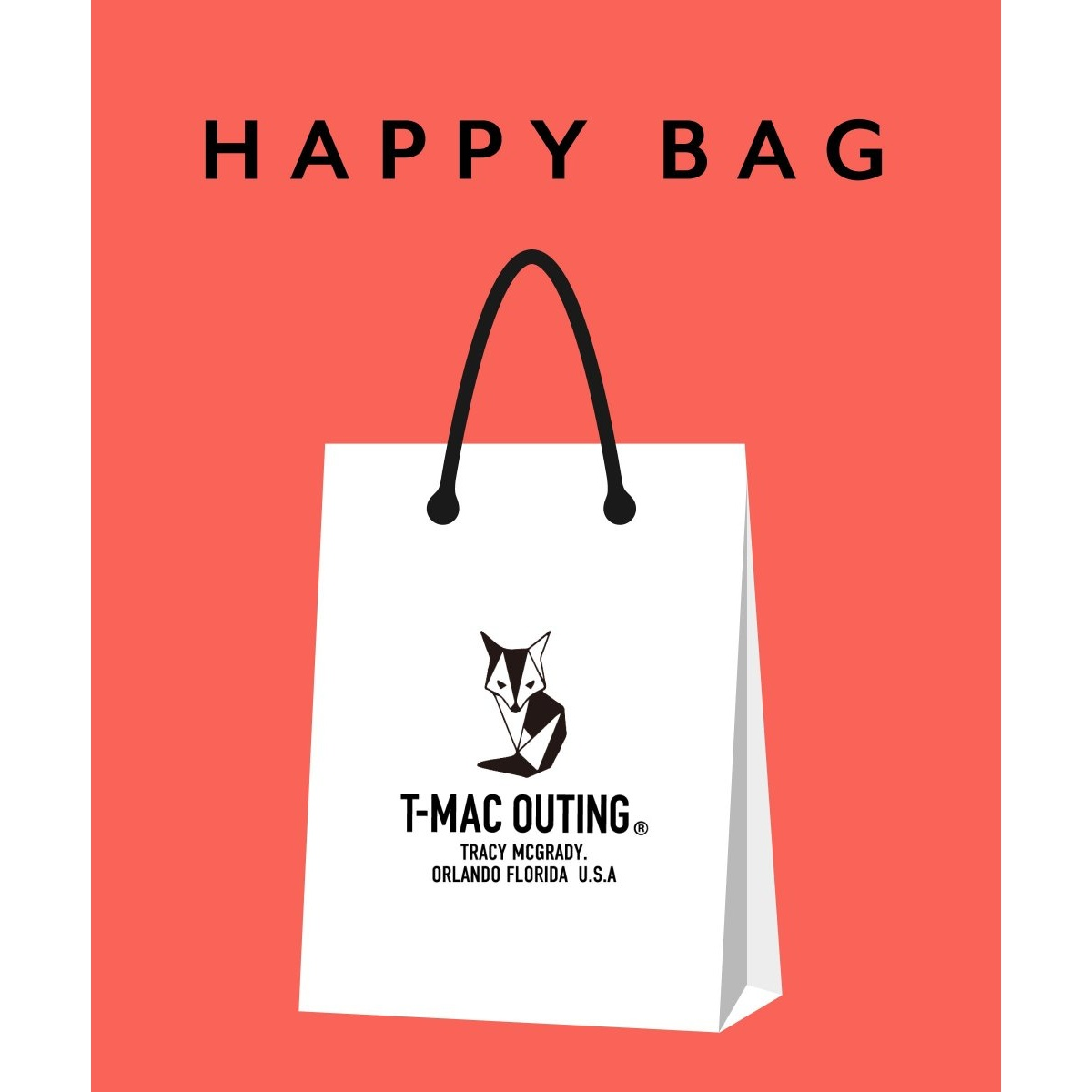 T-MAC OUTING HAPPY BAG/イッカ
