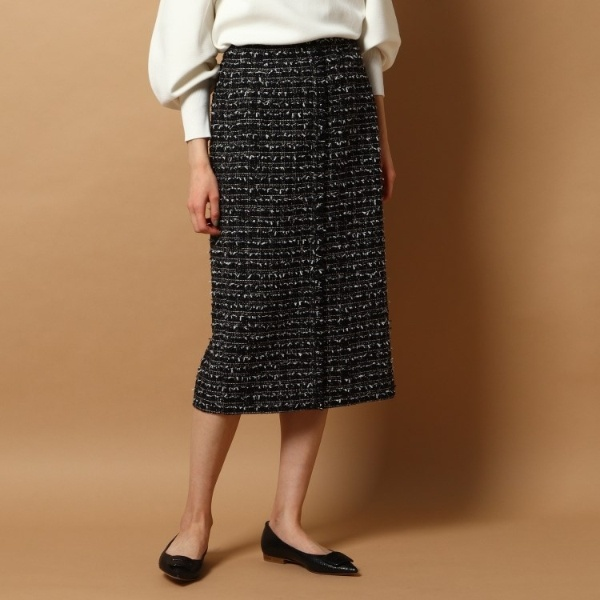 NEW スカート ドレステリア お得なキャンペーンを実施中 ファンシーツイードスカート 好評受付中