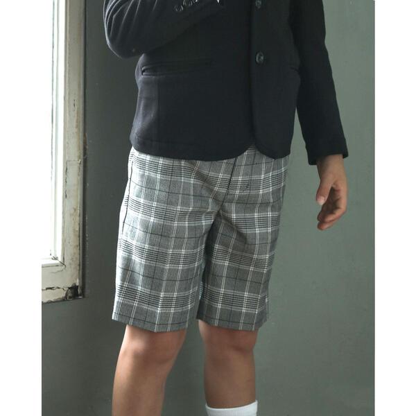 <title>グレン チェック ハーフ パンツ 110~130 110~130cm お見舞い ベベ</title>