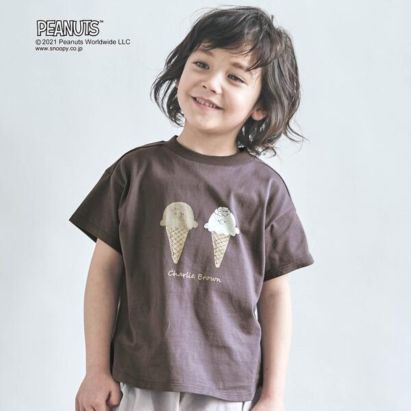 SALE 販売 - Charlie Brown Tシャツ エフオーオンラインストア 開催中 ブラウン チャーリー