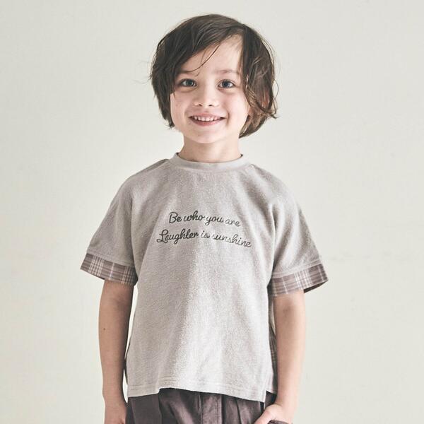 SALE - アウトレットセール 特集 商品 エフオーオンラインストア チェック切り替えTシャツ
