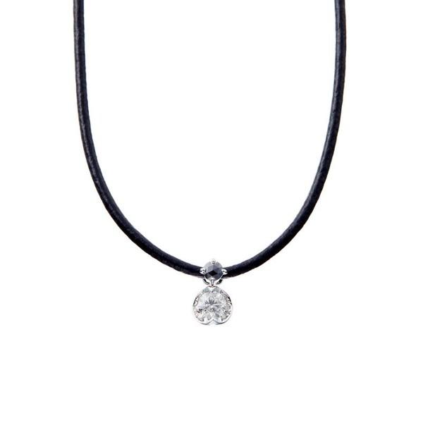 柔らかな質感の K18 ホワイトゴールド ダイヤモンド ネックレス(0.5ct)/エステール, AQUA LEGEND:9df93923 --- beautyflurry.com