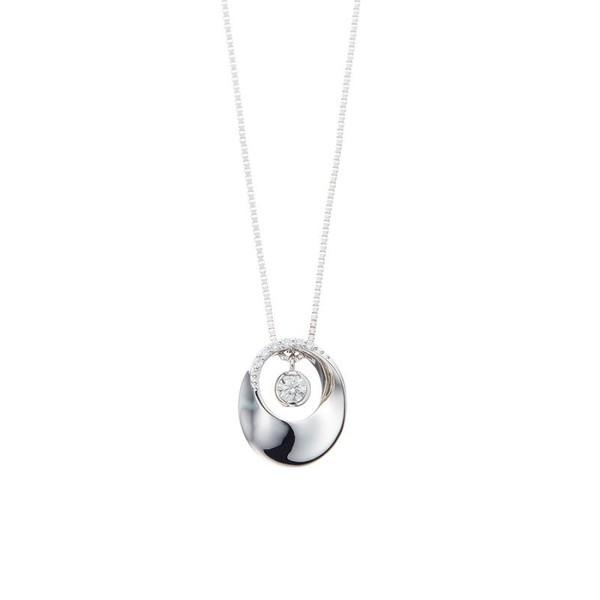【超歓迎された】 プラチナ ダイヤモンド メビウス ネックレス/エステール, APAISER アペゼ:dd909c7f --- beautyflurry.com