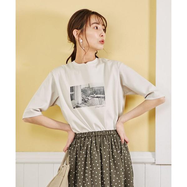 Tシャツ/Jプレス 【洗える】フォト