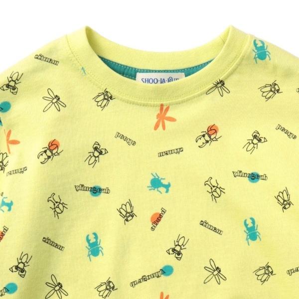 SALE 新作販売 その他トップス 90-130cmオーガニックコットン ディスカウント シューラルー 昆虫Tシャツ