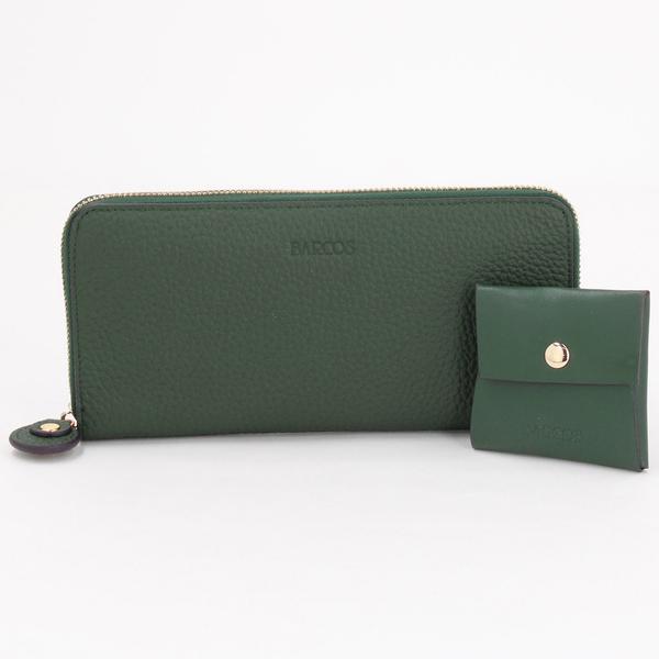 再入荷 長財布 海外並行輸入正規品 格安 BARCOS バルコス チルコロR GLウォレット ラウンド型財布