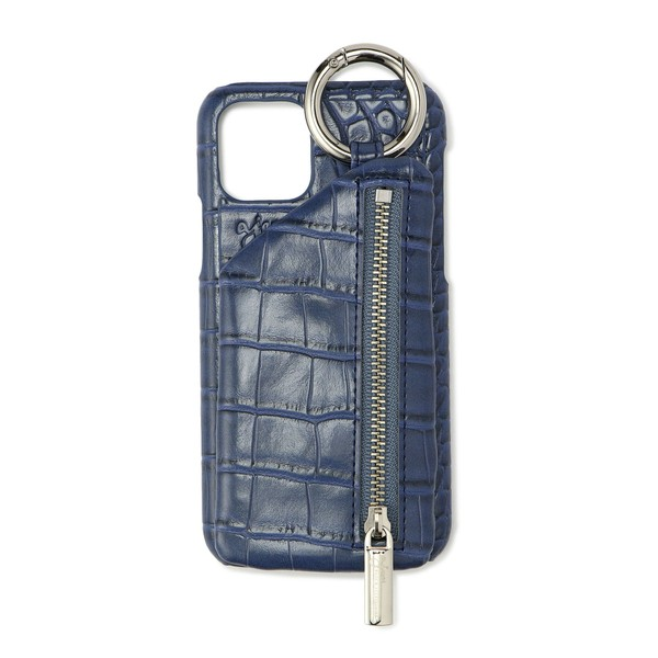 - ajew/エジュー/Croco iPhone Case 11Pro(X Xs共通対応サイズ)/ロイヤルフラッシュ
