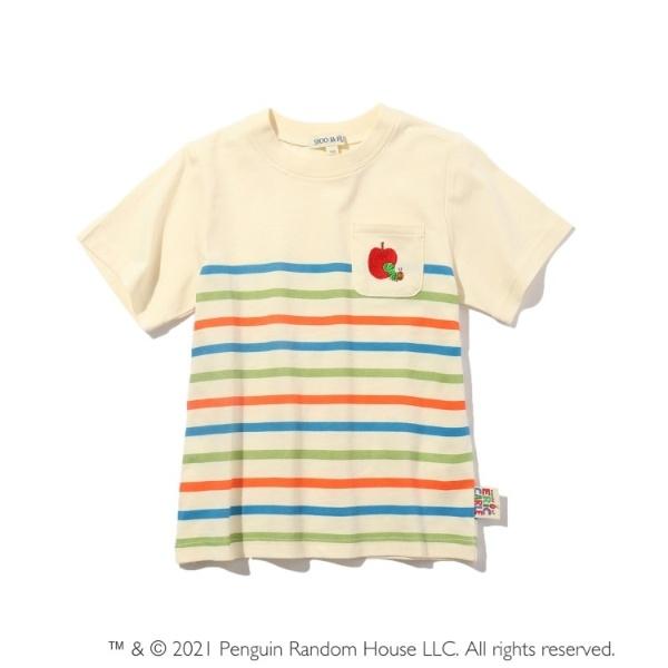 SALE その他トップス はらぺこあおむし ボーダーTシャツ 人気 シューラルー メーカー再生品