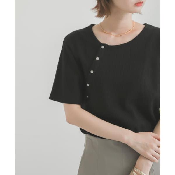 SALE Tシャツ カットソー WEB センスオブプレイスバイアーバンリサーチ 送料無料限定セール中 一部店舗限定 ハニカムボタンディテールトップ 激安通販ショッピング