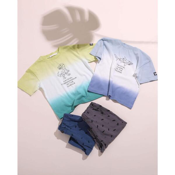 SALE 段染 送料無料限定セール中 天竺 80~130cm 定価 Tシャツ スラップスリップ
