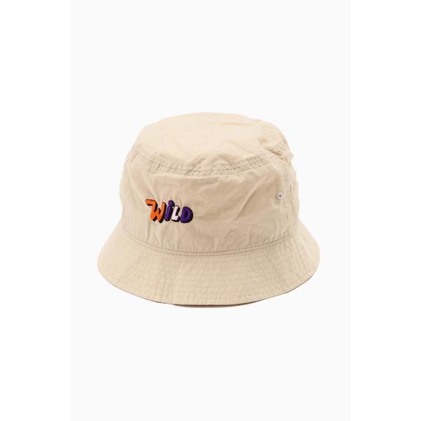 未使用 その他帽子 ロゴ刺繍バケットハット (訳ありセール 格安) ローズバッド