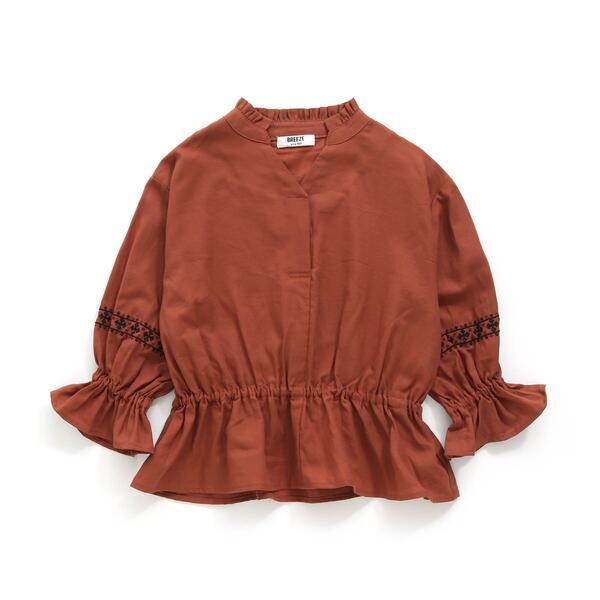 ブラウス 1着でも送料無料 袖刺繍ブラウス エフオーオンラインストア 購入