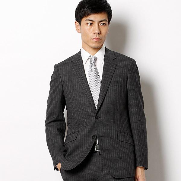バーズアイ調ストライプスーツ/ビジネス BIGI) スーツ/メンズビギ(MEN'S BIGI), dai8家具:8615a32e --- officewill.xsrv.jp