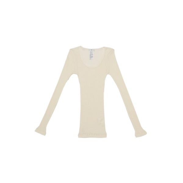 ウールシルクテレコトップス/ダブルスタンダードクロージング(DOUBLE STANDARD CLOTHING)