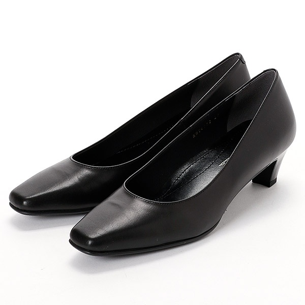 《普通幅》ブラックパンプス【21.5cm~25cm】/エイゾー(EIZO)