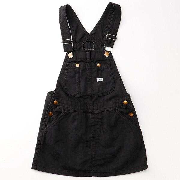 【定番人気】オーバーオールスカート/リーキッズ(Lee)