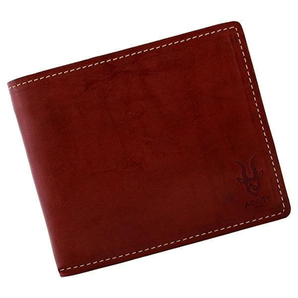 ラヴァン/ハーネスノーグレイス(バーガンディ)【二つ折財布 折財布】/アジリティーアッファ(AGILITY Affa)