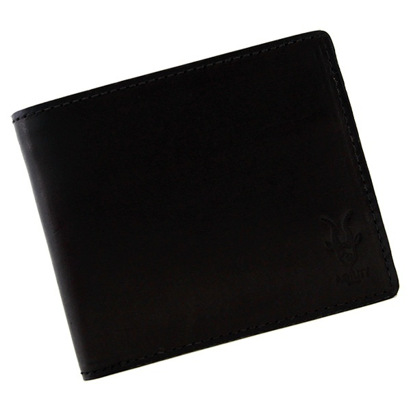 ラヴァン/ハーネスノーグレイス(ブラック)【二つ折財布 折財布】/アジリティーアッファ(AGILITY Affa)
