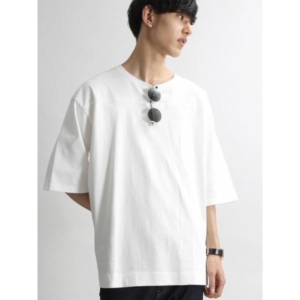 ウィゴー(WEGO/度詰め天竺フットボールTシャツ)/ウィゴー(メンズ)