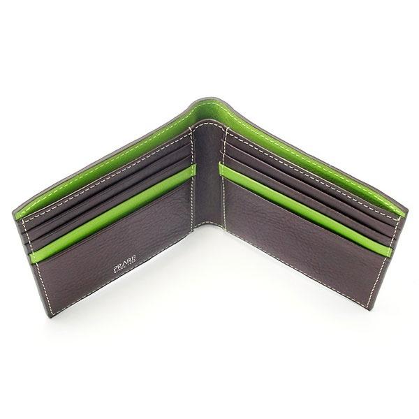 ピープル 二つ折り財布(小銭入れなし)/プレリー1957(PRAIRIE SINCE1957)