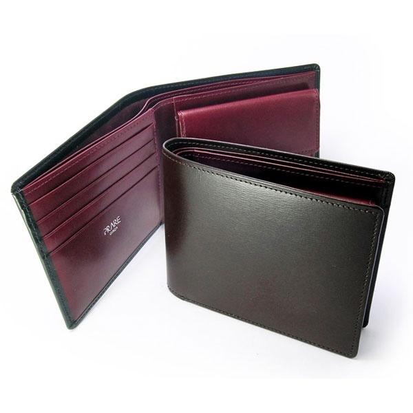 プレリー BOXカーフ 新品■送料無料■ ヴェネチアン 二つ折り財布 プレリーギンザ PRAIRIE プレゼント 小銭入れあり GINZA