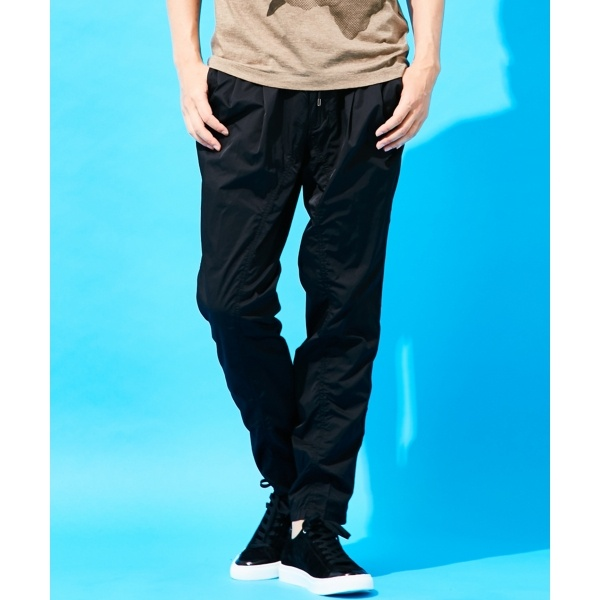 【17SS】raster satin stretch PANTS [PEGG TUCK] パンツ/ジョゼフ オム(JOSEPH HOMME)