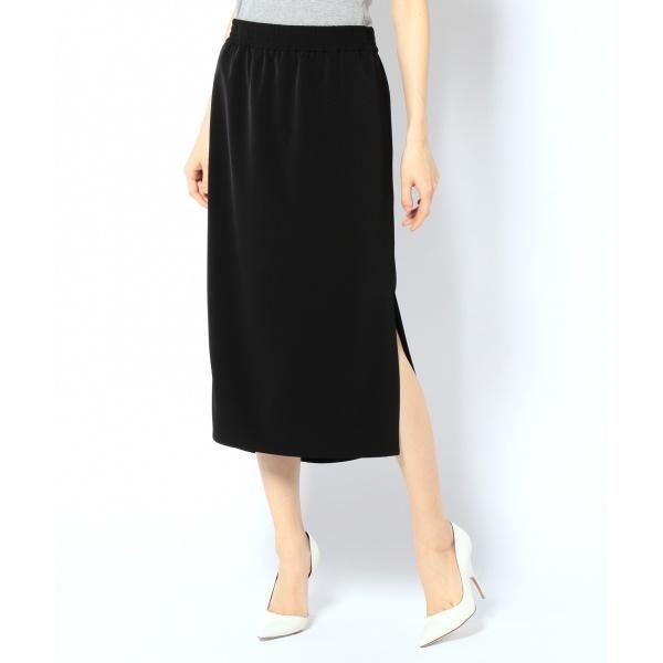 【JAPAN LIMITED】スムースドレープツイル スカート/カルバン・クライン ウィメン(Calvin Klein women)