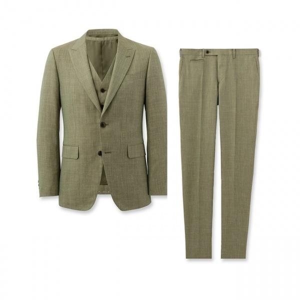 ピークドラペル3ピーススーツ タケオキクチ TAKEO KIKUCHIvwyN0Pnm8O