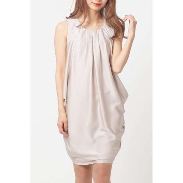 全2色【大きいサイズ】【42・46】3WAYサテンドレープドレス/ローズティアラ(大きいサイズ)(Rose Tiara)