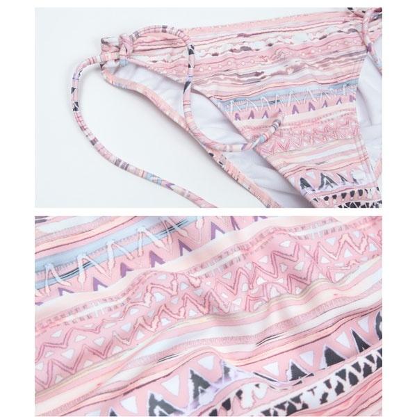 SEA DRESS ウォーターイカット柄フレアバンドゥビキニ ティティベイト titivateLRjS354Aqc