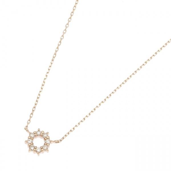 ダイヤモンド 爪留めラウンド ネックレス/ココシュニック(COCOSHNIK)