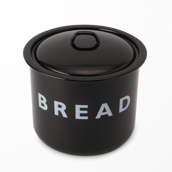 【LABOUR AND WAIT】BLACK BREAD BIN 28×27cm/ビショップ(Bshop)