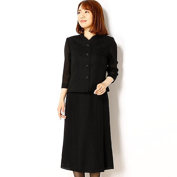 ブラックフォーマル/スーツ/夏用/9号/11号/13号/15号/17号/喪服/礼服/2358351/ドレスデコ(dress deco)