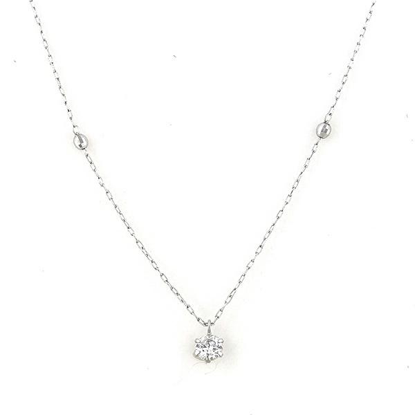 プラチナ ダイヤモンド ネックレス(0.2ct)/エステール(ESTELLE)