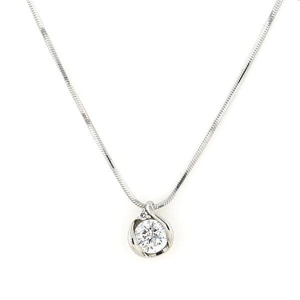 プラチナ ダイヤモンド ネックレス(0.3ct)/エステール(ESTELLE)