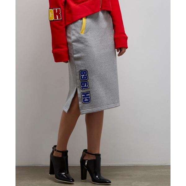 【ベルビア館OPEN記念/WOMEN】クラシックフレンチテリー スカート/カルバン・クライン ウィメン(Calvin Klein women)