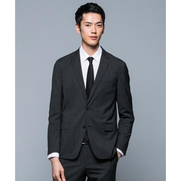 【スーツ/セットアップ】2/120TWマイクロストライプ スーツジャケット/カルバン・クライン メン(Calvin Klein men)