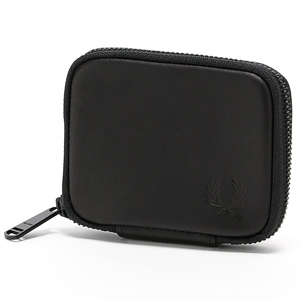 【17AW】ZIP AROUND LEATHER KEY CASE/フレッドペリー(雑貨)(FRED PERRY)