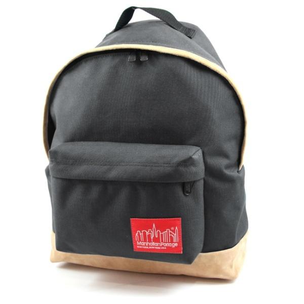 Suede Fabric Big Apple Backpack/マンハッタンポーテージ(Manhattan Portage)
