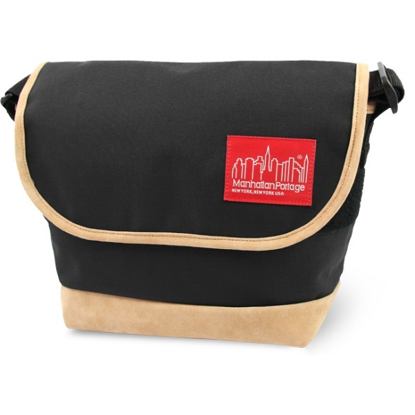 Suede Fabric Casual Messenger Bag/マンハッタンポーテージ(Manhattan Portage)