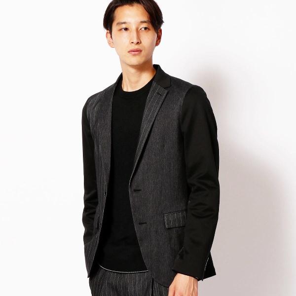 ジャージデニムジャケット/コムサメン(COMME CA MEN)
