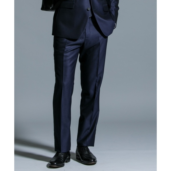 【スーツ特集掲載品】MAFシャドウチェック スーツパンツ/カルバン・クライン メン(Calvin Klein men)
