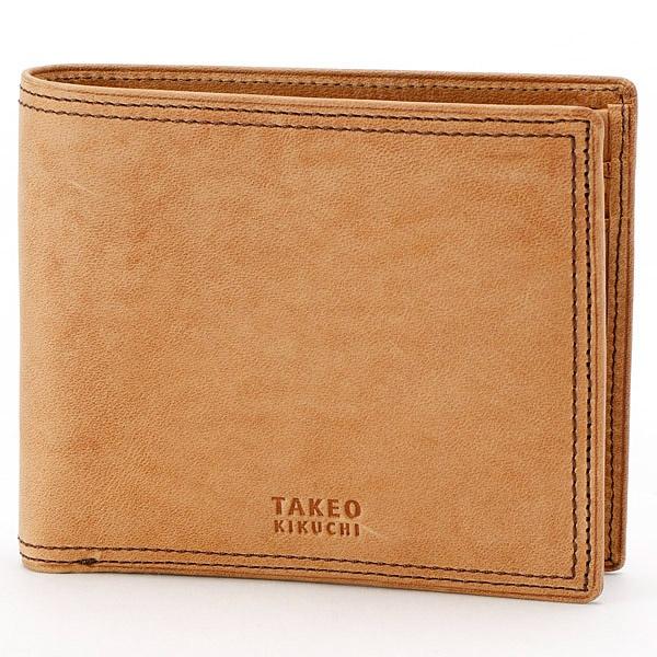 ティンバー小物 2つ折り財布 763604/タケオキクチ(バッグ&ウォレット)(TAKEO KIKUCHI)