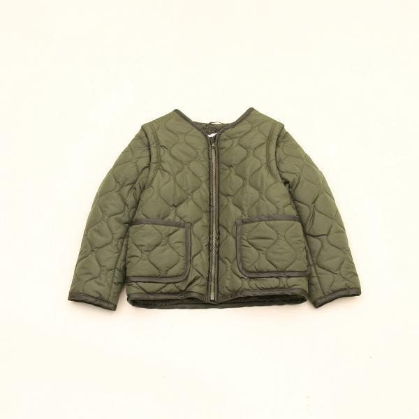 1ced21f7276fe  coenキッズ/ジュニア 2WAYキルティングジャケット(100~150cm)/コーエン