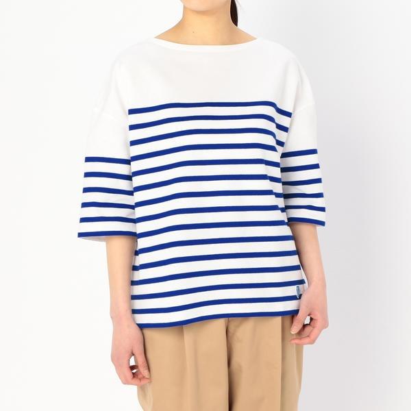 【ORCIVAL】フレンチセーラーTシャツ WOMEN/ビショップ(レディース)(Bshop)