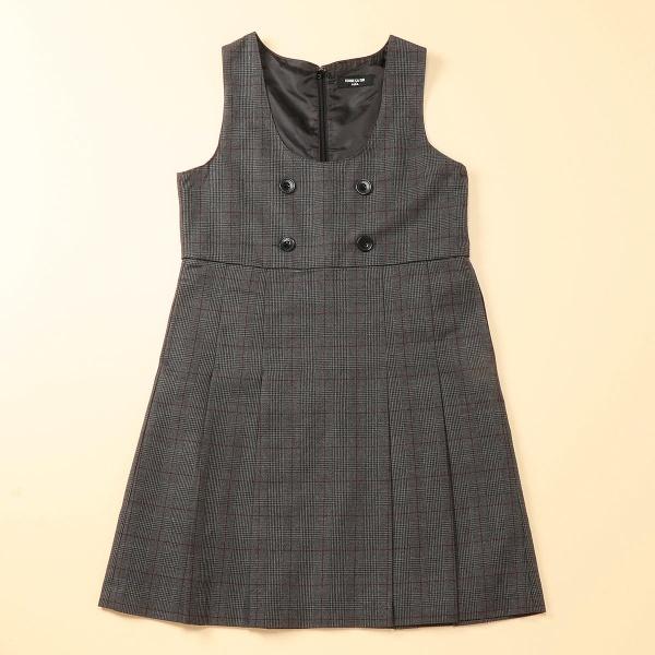 グレンチェックジャンパースカート(140~160cm)/コムサイズムキッズ(COMME CA ISM)