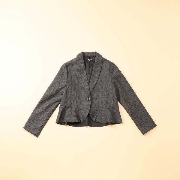 グレンチェックジャケット(140~160cm)/コムサイズムキッズ(COMME CA ISM)