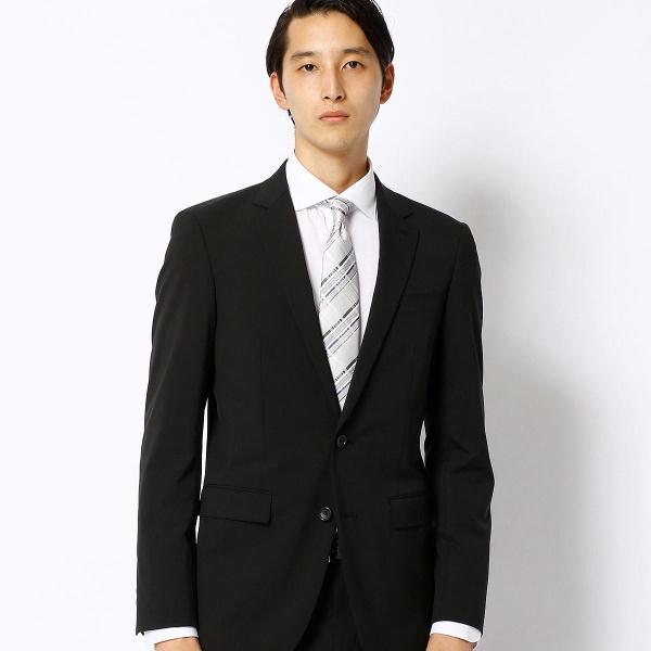 ポリスト小紋ドビーセットアップジャケット/コムサメン(COMME CA MEN)