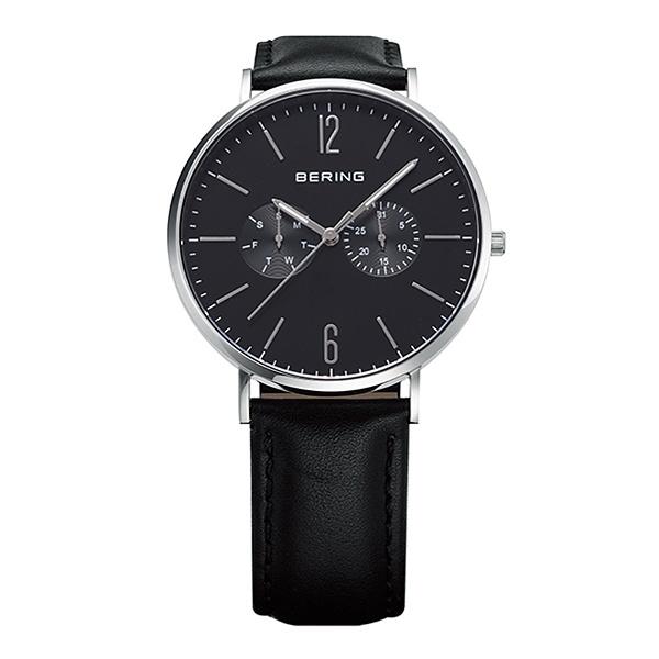 BERING/ベーリング Unisex Calf Leather&Mesh Watch/ベーリング (BERING)
